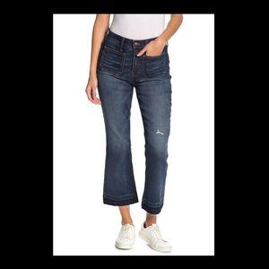 Madewell Cali Demi Boot Released Hem Jeans